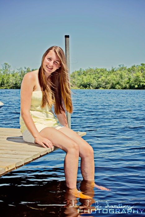 Tiffany on the Dock
